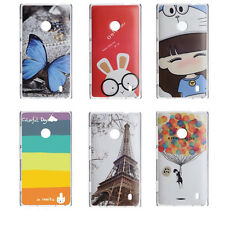 6 Pattern New Protect Back Cover Case Hard Protecter For Nokia Lumia 520