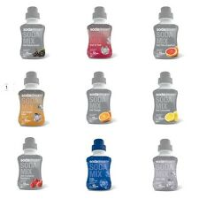 Diet Assorted Flavours SodaStream - Sugar Free Drinks Concentrated Syrups 500ml
