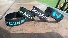 CrossFit Fitness Silicone Wristbands