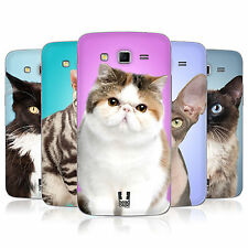 Head Case Cat Breeds Battery Back Cover For Samsung Galaxy Grand 2 G7105
