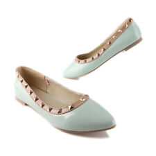 Womens Shoes Warren Pointed Shoes Rivet Flat Shoes NEW on line Cheap shoes ladys