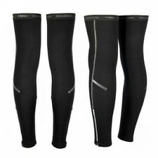 Cycling Bike Bicycle Sport Fleece Winter Thermal Guard Knee Running Sleeve Cover