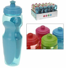 Sports Water Bottle 600ML Drinks Bottle Camping Hiking Cycling Easy Grip