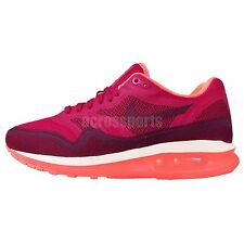 Nike Wmns Air Max Lunar1 Fuchsia Pink Orange 2014 Lunar Womens Running Shoes 1