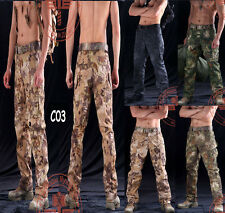 Tactical pythons grain Hiking Climbing Travel Fishing Outdoor Pants Trousers