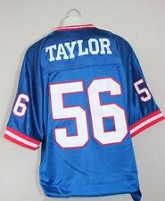 Lawrence Taylor #56 New York Giants Throwback Blue Jersey NWT