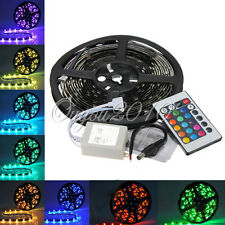 IP65 impermeabile strisce bobina led luce RGB 5m 150 led 5050 smd dc 12v 24 key
