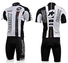 BMC Cycling Jersey Short Sleeve Bike Bicycle Jersey Full Zipper Polyester