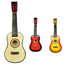 "New Hifh quality 23"" 6 Strings Mini Acoustic Guitar Fit for Children 3Ages up"