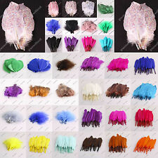 "Wholesale Multi-Color Nature Feathers 2.1-7.5"" 100pcs Craft Making Party Decor"