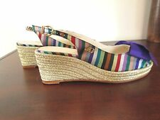 MAURO-VOLPONI-SANDAL-WEDGES-MADE-IN-ITALY-SZ-EU38-US8