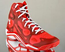 Under Armour Micro G Anatomix Spawn 2 II UA men basketball shoes NEW red white