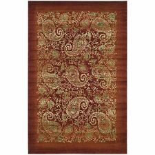Safavieh Power Loomed Lyndhurst RED Paisley Area Rugs - LNH224B