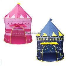 Kids Baby Children Toys Portable Princess Tent/House/Hut Play Games 2Color VE4A
