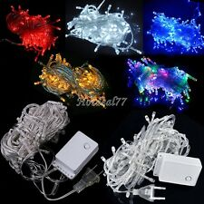 8HOT 10M 100 LED Lights Decorative Christmas Party Festival Twinkle String Lamp