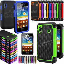 NEW SHOCK PROOF CASE COVER FITS SAMSUNG GALAXY ACE S5830 SCREEN PROTECTOR