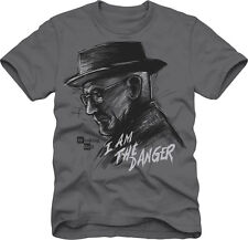 Breaking Bad I Am The Danger Heisenberg Sketch NWT Licensed Men's T-Shirt