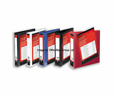 A4 PRESENTATION 4 D RING BINDER DISPLAY FILES ~ Choose Folder Colour/Sizes/Qty