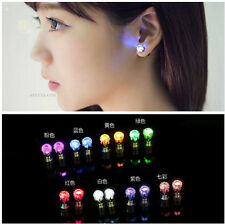ONE PAIR LIGHT LED BLINKING EARRINGS STUDS ACCESSORIES FOR PARTY/FESTIVAL