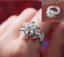 Lord Of The Rings Nenya Galadriel Ring Of Water Elegant Fashion Jewelry cy606