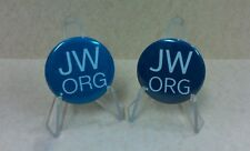 JW.ORG 10 Round Pin Back Buttons Badge 1, 1.25, 1.5 Jehovah Witness