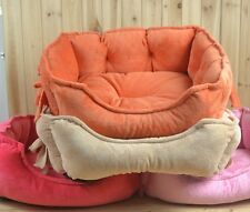 Soft Warm Bowknot Pet Kennel Dog Cat Bed For Small/Medium Pet Dog