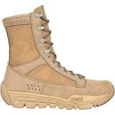 Rocky C5C Commercial Military Boots Desert Tan RKYC003