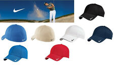 New Nike Golf Hat Cap Swoosh Mesh Sandwich Back Flex-fit Profit Fitted 333115
