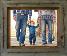 """Unique Rustic Barn Wood """"Texas Style"""" Picture Frame (4x6, 5x7, 6x8, 8x10, 11x14)"""
