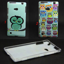 New Owls Tpu Gel Soft Skin Case Cover For Nokia Lumia 720