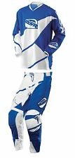MSR Blue White Max Air Split Jersey & Pants Mens Dirt Bike MX