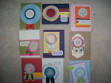 Thanks Birthday Winner Best #1 For you Thinking of you card made w/ Stampin' Up!