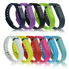 Large Small Intelligent Replacement Wrist Band & Clasp for Fitbit Flex Bracelet