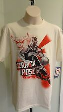 NWT NBA Adidas Chicago Bulls Derrick Rose Screened Photo Tee -Youth M & XL