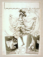 Photo Printed Old Poster Stage Theatre Misc Musical Drama Comedy Production 013