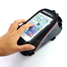 """CHEAP~ Bicycle Bike 4.8"""" Mobile Phone Holder iPhone Pouch Case Carrier Bag Cycle"""