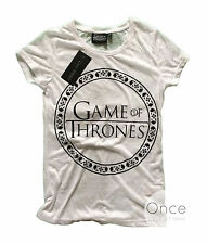 Ladies Official GAME OF THRONES LOGO T shirt from PRIMARK