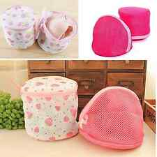 1Pc Circular Triangle Shape Laundry Bags Cleaning Bra Lingerie Care Wash Bag NEW