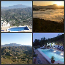 CHEAP SPANISH HOLIDAY WITH POOL NEAR MALAGA SLEEPS 2  TV WIFI STUNNING VIEWS