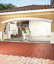 Simple to install garage screen door bug mosquito insect net netting curtain NEW