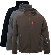 Regatta Mens Softshell Wind Resistant Water Repellent Fleece Jacket Davidson