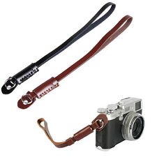 Genuine Leather Hand Grip Wrist Strap For DSLR Canon Nikon Sony Panasonic Camera