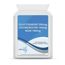 Glucosamine 500mg Chondroitin 100mg and MSM 100mg