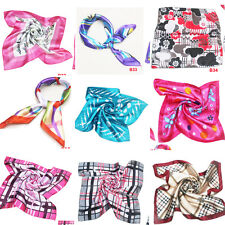 BE Fashion women's Soft Scarves square scarf Design color silk scarves b31-40