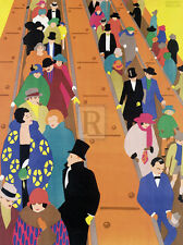 Horace Taylor LONDON IS BEST REACHED BY UNDERGROUND print VARIOUS SIZES new