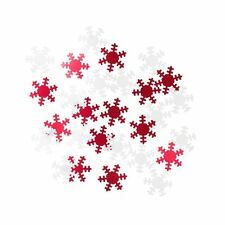TABLE SCATTER♥Confetti♥Christmas♥Talking Tables♥Red♥Snowflake♥Star♥Gold♥Silver