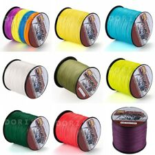 300M/328yds 12 Colors 6LB-100LB Super Strong Dyneema Braided Sea Fishing Line