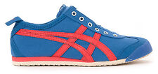 Asics Onitsuka Tiger Mexico 66 Slip On Unisex Casual Shoes Mens -  Blue/Fiery Re