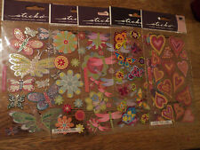 EK SUCCESS STICKO STICKERS LOTS TO CHOOSE FROM STARS SANDCASTLES BUTTERFLY  BNIP