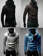 Mens Fashion Hot Slim Fit Sexy Top Designed Hoodies Jackets Coats 4Color 4Size
